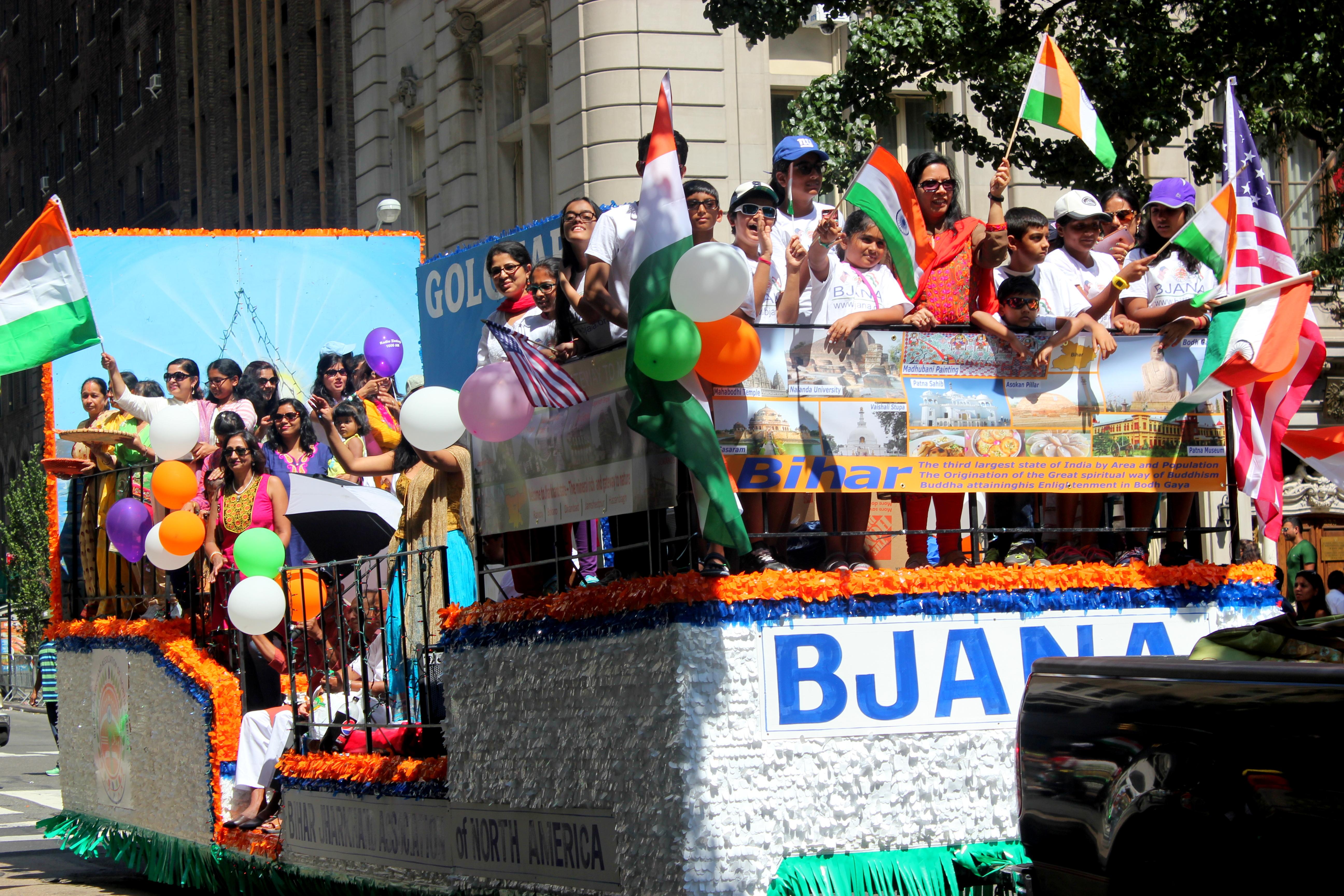 BJANA @India Day Parade NYC